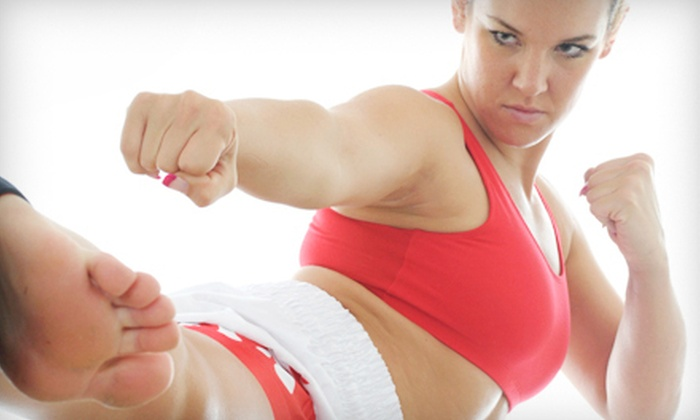 ZENergy - Johnston: 5 or 10 Women's Self Defense or Cardio Combat Classes at ZENergy (Up to Half Off)