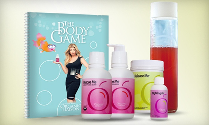 Organic Liaison: Three- or Six-Month Online Weight-Loss Program with Optional Supplements from Organic Liasion (Up to 60% Off)