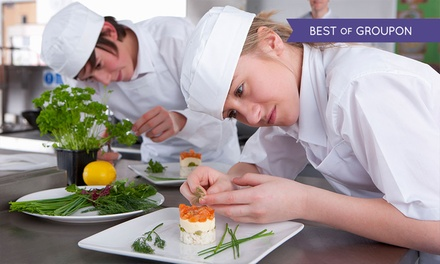 Live Online Cookery Course with Shaw Academy (96% Off)