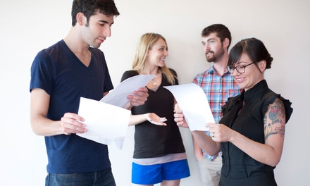 One Month of Acting Classes at Houde School of Acting (Up to 51% Off). Four Class Options.