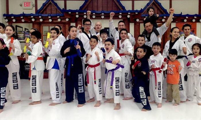 TMA KICKBOXING - North Bergen: Five Martial Arts Classes at North Bergen United Taekwondo (51% Off)