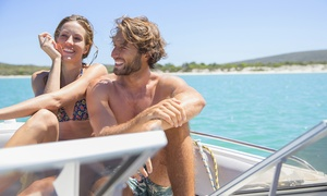 Bay Breeze South Boat Rentals: Two- or Four-Hour Boat Rental from Bay Breeze South Boat Rentals (Up to 46% Off). Eight Options Available.