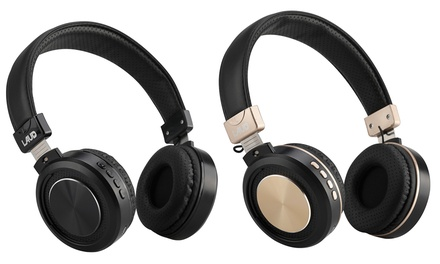 LAUD Over-The-Ear Bluetooth Headphones with Wired Option (1- or 2-Pack)