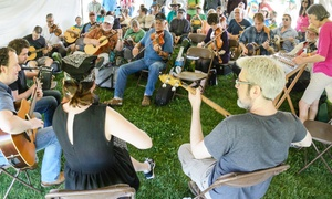 Albuquerque Folk Festival: Admission for Two or Four to the Albuquerque Folk Festival (Up to 44% Off)