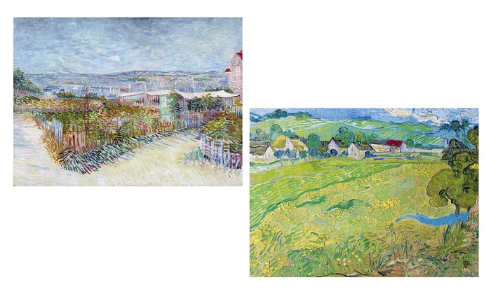24 x18 van gogh art prints groupon goods