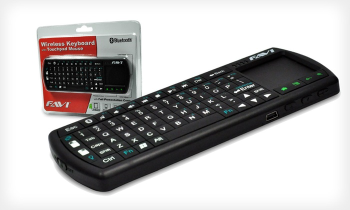 Favi Mini Wireless Bluetooth Keyboard: $27 for a Favi Wireless Bluetooth Tablet Keyboard ($79 List Price). Free Shipping.