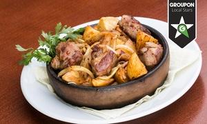Restauracja Gruzja: Gruzińska uczta: stół dań dla 2 osób za 99 zł i więcej opcji w Restauracji Gruzja na Chmielnej