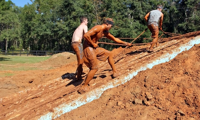 Avago Mud Run - Tallahassee: Avago Mud Run Entry for One, Two, or Four on October 25 (Up to 38% Off)