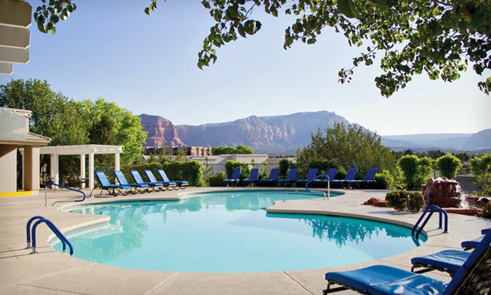 The Ridge on Sedona Golf Resort - Village of Oak Creek (Big Park): Two-Night Stay for Four at The Ridge on Sedona Golf Resort in Sedona, AZ. Four Options Available.
