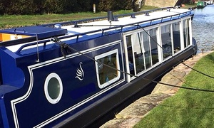 Blue Swan Boat Hire: Canal Cruise With Afternoon Tea For One, Two or Four with Blue Swan Boat Hire (Up to 65% Off)