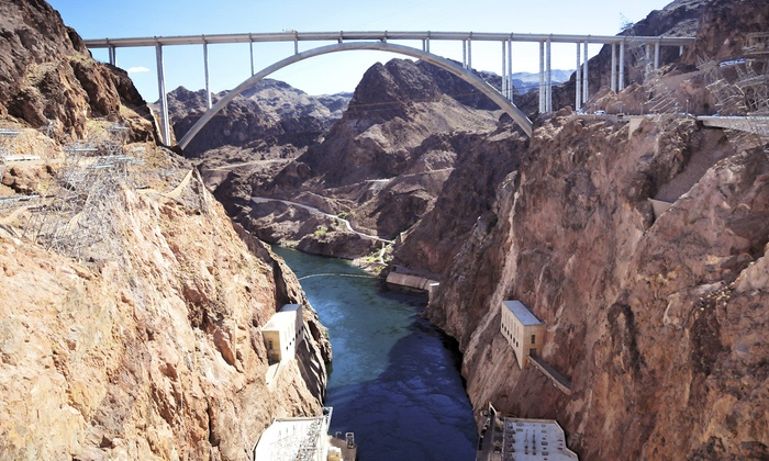 Sweetours - Silver Canyon: 5-Hour Hoover Dam Tour, 14.5-Hour Grand Canyon South Rim Bus Tour, or 11-Hour West Rim Bus Tour from Sweetours (Up to 37% Off)