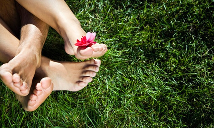 Dr. Shel Wellness & Medical Spa - Lakepointe Center: Laser Toenail-Fungus Removal for Both Feet at Dr. Shel Wellness & Medical Spa in Sugar Land (67% Off)