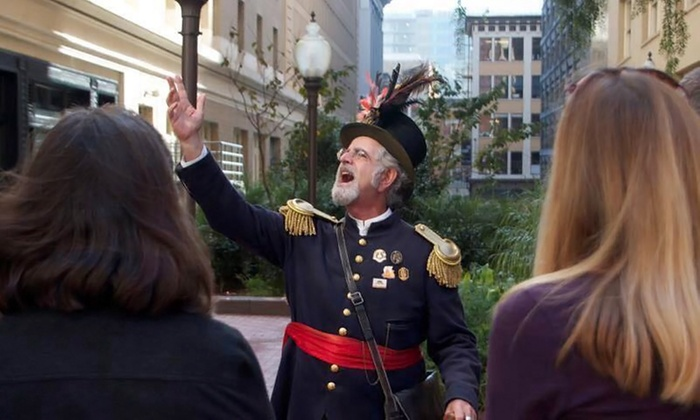 Emperor Norton's Fantastic San Francisco Time Machine - Ferry Building: Historical Waterfront Tour for Two or Four from Emperor Norton's Fantastic San Francisco Time Machine (Up to 64% Off)