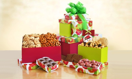 California Delicious Poppy Holiday Gift Basket