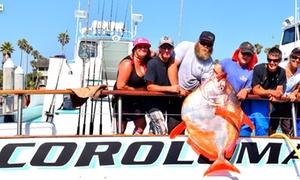 Ocean Fishing Day Trip from Hooks Landing Sportfishing at Hooks Landing Sportfishing, plus 6.0% Cash Back from Ebates.