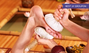 Indian Massage: One or Three Herbal Hands and Feet Reflexology Treatments at Indian Massage (Up to 43% Off)