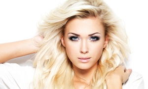Hair by Danica: Women's Haircut with Optional Highlights at Hair by Danica (Up to 52% Off). Three Options Available.