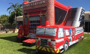 Fire House Bounce Houses: Six-Hour Bounce-House Rental from Fire House Bounce Houses (25% Off)