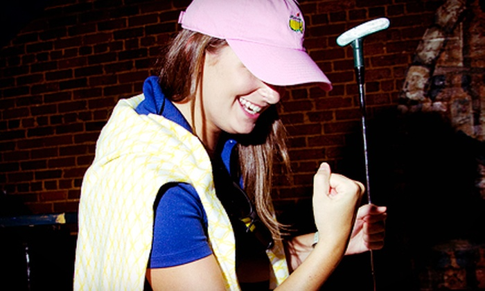 Five Points Association - Columbia: $15 for Bar Stool Classic Mini-Golf Pub Crawl for Two from Five Points Association on Friday, September 20 ($40 Value)