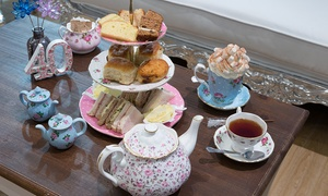 Tea Terrace: Traditional Afternoon Tea with an Optional Prosecco at The Tea Terrace at House of Fraser London Victoria(Up to 38% Off)