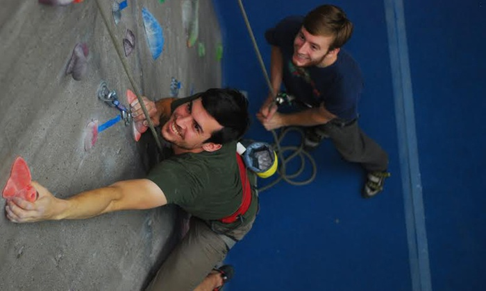 Triangle Rock Club Fayetteville - Fayetteville: Rock Climbing Intro Class and Two-Week Pass for One or Two at Triangle Rock Club Fayetteville (Up to 74% Off)