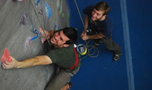 Triangle Rock Club Fayetteville: Rock Climbing Intro Class and Two-Week Pass for One or Two at Triangle Rock Club Fayetteville (Up to 74% Off)