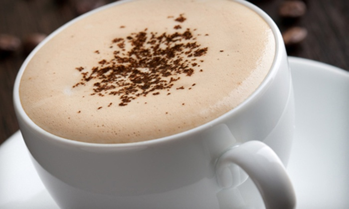 5th Avenue Coffee Cafe - Garner: $12 for Five Coffee Drinks and Five Desserts at 5th Avenue Coffee Cafe (Up to $33 Value)