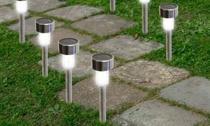 24-pack Of Solar Garden Path Lights