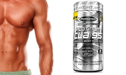 90 Servings of Muscletech Platinum Pure CLA 95 Workout Supplement