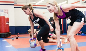 FIT USA for Women at Karate USA: 10 or 15 of Boot Camp Lessons —FIT USA (Up to 67% Off)