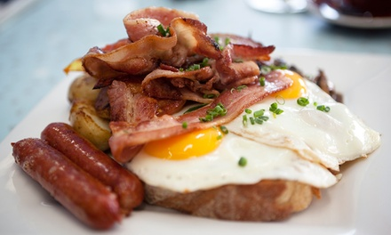 Choice of Breakfast and Drink for Up to Four at Cafe Creme (Up to 50% Off)