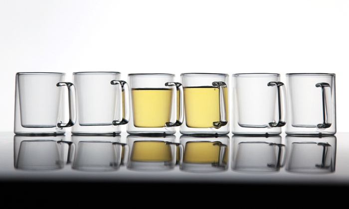 Double-Walled Glassware Set: $19.99 for a Double-Walled Glassware Set (Up to $75 List Price). Multiple Sets Available. Free Shipping and Returns.