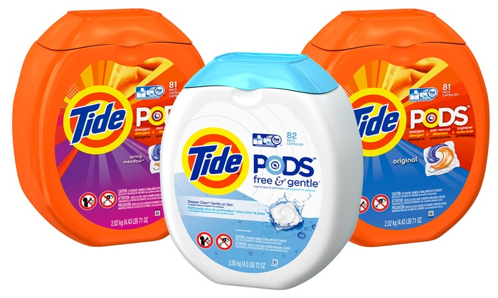 Tide Detergent Pods 81ct Groupon Goods