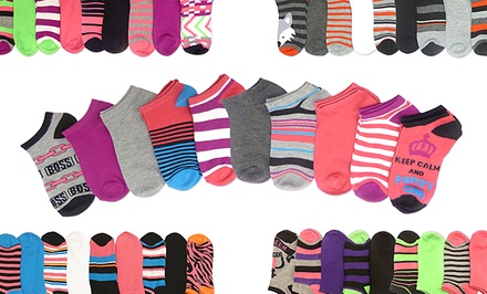 10-Pack Total Sox Women's Low-Cut Socks