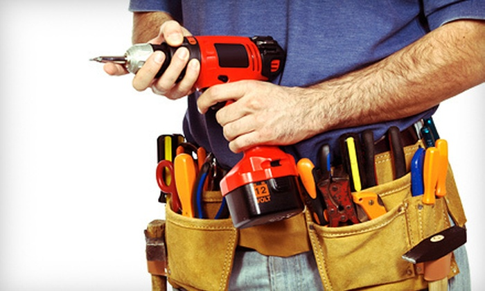 M.A.K. Construction and Handyman Services - Multiple Locations: Two or Four Man-Hours of Handyman Services from M.A.K. Construction and Handyman Services (Up to 63% Off)