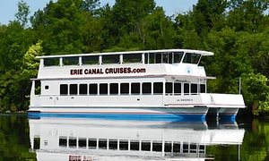 Erie Canal Cruises: Erie Canal Sightseeing Cruise for Two or Four from Erie Canal Cruises (Up to 41% Off)