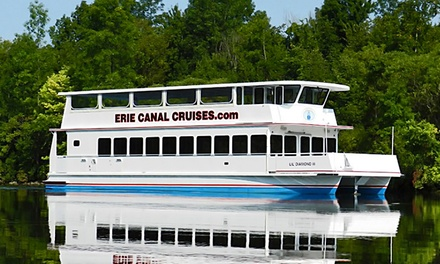 Erie Canal Sightseeing Cruise for Two or Four from Erie Canal Cruises (Up to 51% Off)