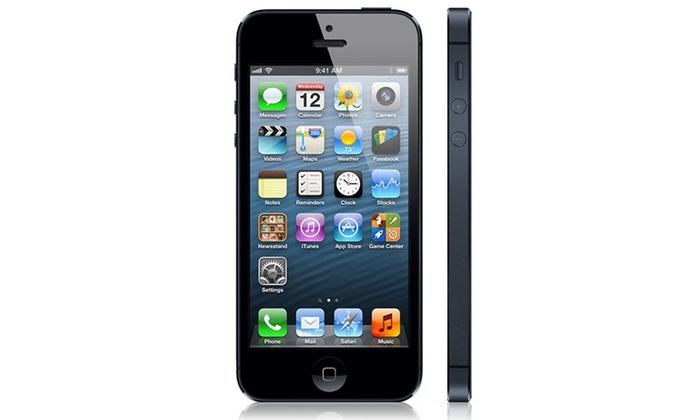 missing discount value apple iphone 5 64 go groupon. Black Bedroom Furniture Sets. Home Design Ideas