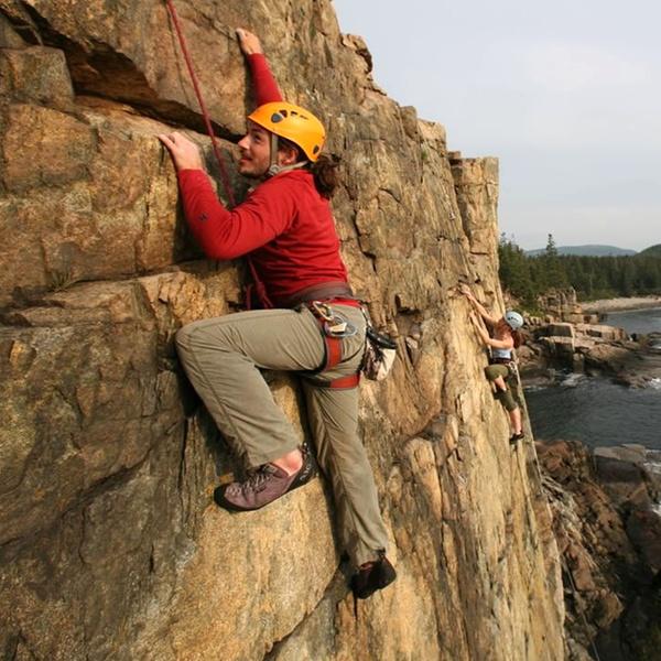 Half Day Outdoor Rock Climbing Acadia Mountain Guides Climbing School Groupon