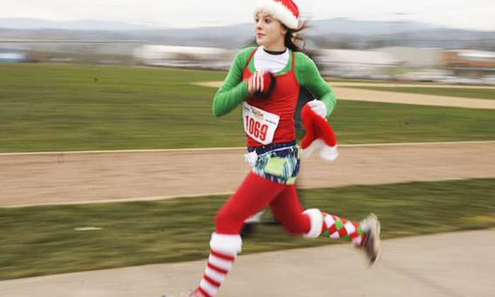 The Arthritis Foundation Jingle Bell Run/Walk 5k - Multiple Locations: One or Two Entries to The Arthritis Foundation Jingle Bell Run/Walk 5K on December 7 or 14 (Up to 50% Off)