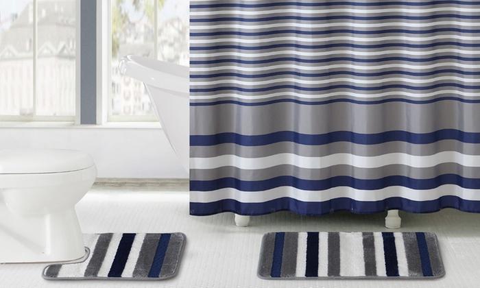 15 Piece Bath Set Collection   Groupon Goods