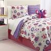 Butterfly Mini Reversible Comforter Set