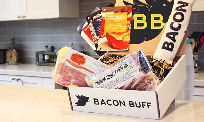 Bacon Buff: One-, Three, or Six-Month Subscription to Artisanal Bacon of the Month Club from Bacon Buff (Up to 33% Off)