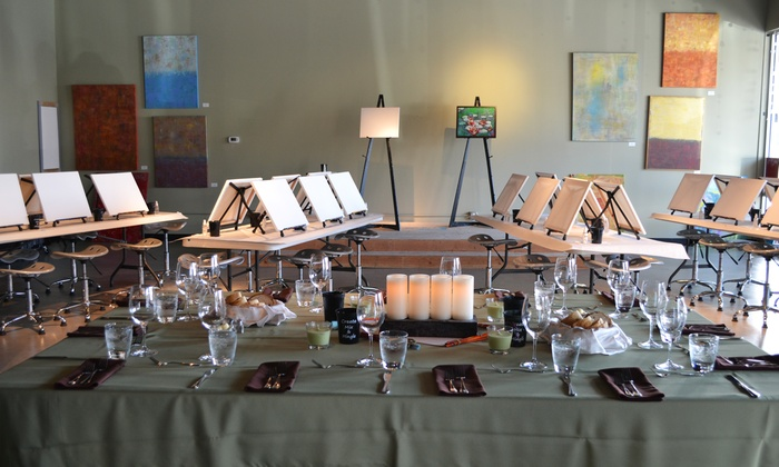 Create Mix and Mingle - San Mateo: Two- to Three-Hour Adult Painting Class for One or Two at Create Mix and Mingle (50% Off)