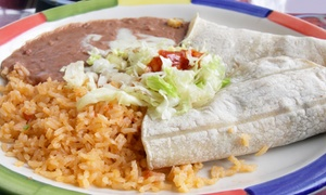 Fajitas Mexican Restaurant: $10 for $20 Worth of Mexican Cuisine at Fajitas Mexican Restaurant