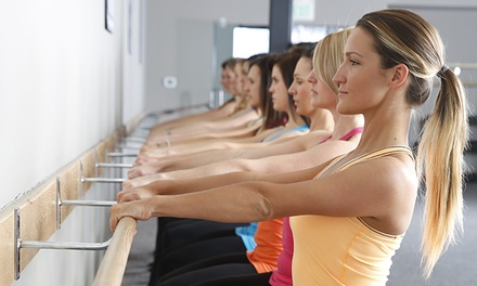 5 or 10 Ballet-Inspired Fitness Classes at Pure Barre (Up to 56% Off)