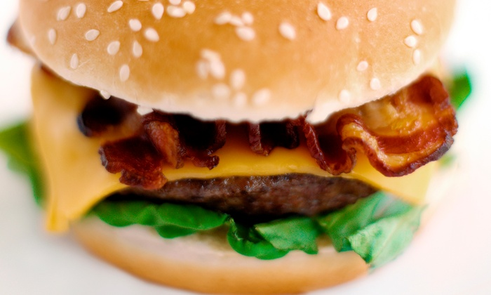 Mile High Burgers and Fries - Broomfield: Classic American Food at Mile High Burgers and Fries (40% Off). Three Options Available.