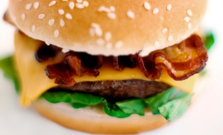 Classic American Food at Mile High Burgers and Fries (40% Off). Three Options Available.