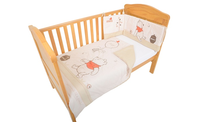 Groupon Goods Global GmbH: East Coast Nursery Winnie The Pooh Bedding Bundle With Free Delivery