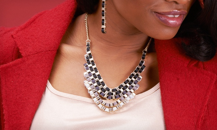 Statement Necklaces and Sets: $15.99 for Statement Necklaces and Sets ($29.99 List Price). 19 Options Available. Free Shipping and Returns.